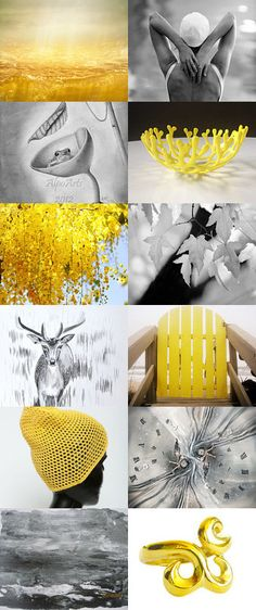 Grey and Yellow Treasures by Anna Margaritou on Etsy-- #etsygifts #etsyfinds #gifts #photography #print #wallart #homedecor #buyonline #buyart #yellow