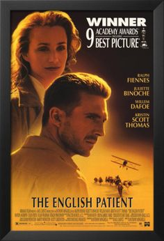 The English Patient - 1996 - Cast: Ralph Fiennes, Kristin Scott Thomas, Juliette Binoche - Director: Anthony Minghella - @~ Mlle