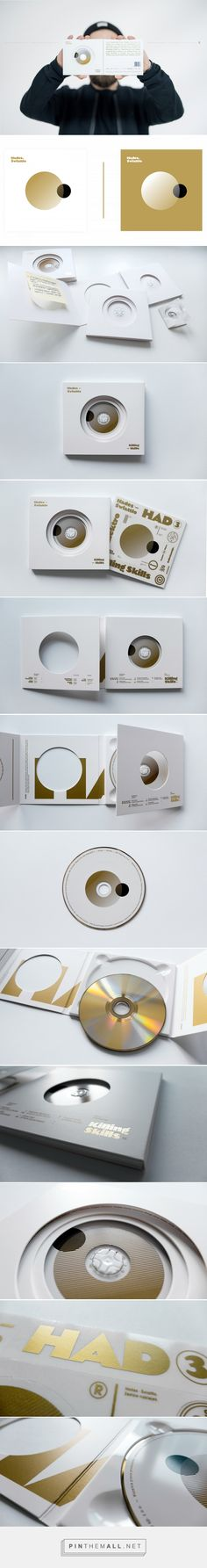 Hades - Świattło / CD Packaging - Packaging of the World - Creative Package Design Gallery - http://www.packagingoftheworld.com/2017/02/hades-swiatto-cd-packaging.html