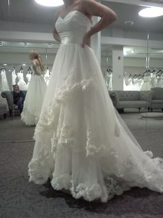 Short brides, post your dress pics! - Weddingbee | Page 7