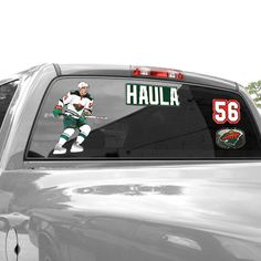 "Erik Haula Minnesota Wild WinCraft 11"" x 17"" Player Decal Sheet - $11.99"