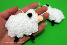 felt lamb sheep