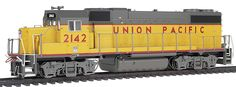 "Walthers Proto 2000 Diesel GP38-2 w/88"" Hood Union Pacific(R) # 2142 DCC Ready * Dynamic Brake Option (As Appropriate) * Magnetic Knuckle Couplers * Dual Machined Brass Flywheels * Limited-Availability"