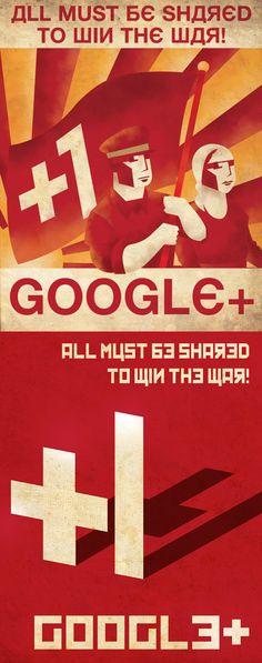 Social Media Propaganda Posters | Robert Catalano #googleplus