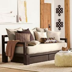 I love the idea of a day bed for our guest bedroom so we can multi purpose that room.