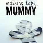 Mummy Halloween Craft For Kids