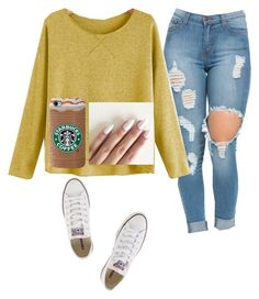 """""""😀😁😀😁😀😁😀😁"""" by hdflynn ❤ liked on Polyvore featuring Converse"""