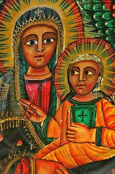 Medieval Christian artwork adorns most Ethiopian Orthodox churches and monasteries. Photo: Mark Sissons