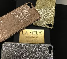 LA MELA COVER , The New  concept luxury iPhone cases  18 kt gold plated , Yellow /white / Rose / Black  GOLD ! HANDMADE in ITALY 🇮🇹  fashion