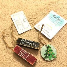 Mini Christmas Ornaments, Christmas Words, Christmas Items, Christmas Decorations, Jenga Blocks, Jute Twine, Snowman, Stencils, Merry
