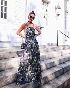 """36.2 mil curtidas, 161 comentários - Camila Coelho (@camilacoelho) no Instagram: """"Summer days! Adoro um longo pro dia - além de super confortável é fresquinho e chic! Este em seda…"""""""