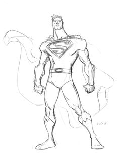 Superman Warm-up by CaseyJonesDA.deviantart.com on @deviantART