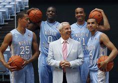 James Johnson north carolina | Roy Williams, J.P. Tokoto, Joel James, Brice Johnson, Marcus Paige