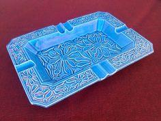 Mid Century Japanese Made Art Pottery Ashtray by SusansYardSale, $10.00