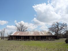 Cherry Springs Dance Hall, an abandoned Texas Hill Country dance hall just outside Fredericksburg. Hank Williams, Patsy Cline, and Elvis Presley performed here!