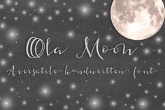 Ola Moon Typeface by