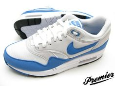 air max 1 white/blue quickstrike