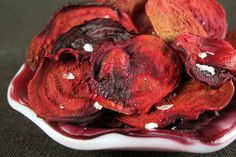 Roasted Beet Chips Recipe