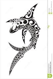 Illustration about Shark in the style of tattoo sketch. Trible Tattoos, Hawaiianisches Tattoo, Tattoo Maori, Thai Tattoo, Samoan Tattoo, Manta Ray Tattoos, Shark Tattoos, Polynesian Tattoo Designs, Maori Tattoo Designs