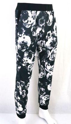 KAYDEN K sublimation print mens jogger pants Stars on Flowers S - XL b344d4d6e