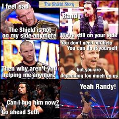 The Shield and Randy Orton lol