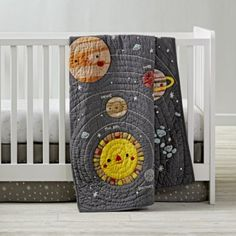 Big Dipper Crib Bedding | The Land of Nod. I am not pregnant but this is pretty much the cutest  thing I've ever seen in my life.