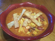Dutch Oven Madness!: Chicken Enchilada Soup