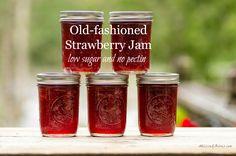homemade jam without pectin