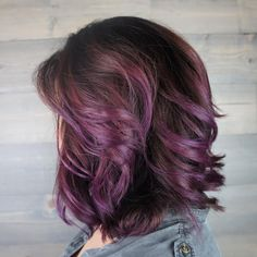 I did lots of purples this week. All similar formulas but different results. And I love them all.