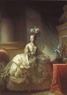 Marie Antoinette 1755 Wien - 1793 Paris, geb Erzherzogin von Österreich, Frau Ludwigs XVI