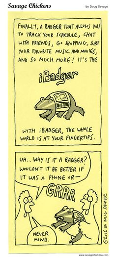 iBadger