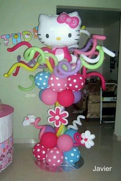 Columna de hello kitty
