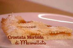 Ricetta Crostata morbida di marmellata - I menù di Benedetta