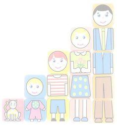 Afbeelding spel Mamas And Papas, Teaching Kindergarten, Kids Cards, Pre School, Cute Drawings, Picture Quotes, Art For Kids, Homeschool, Applique