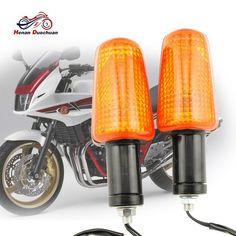 4x Motorcycle Indicators Turn Signals Black 4 BMW S 1000 Sports Bike Motorbike