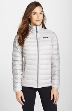 Women's Patagonia Packable Down Jacket, Size X-Large - Grey Puffy Jacket, Sweater Jacket, Coats For Women, Jackets For Women, Clothes For Women, Classy Going Out Outfits, Casual Outfits, Patagonia Down Sweater, Patagonia Pullover