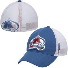 9b716a14ec1 Men s Colorado Avalanche Reebok Navy Blue Face Off Slouch Flex Hat