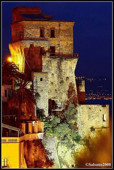 Cetara - torre saracena. Cetara is a town and commune in the Province of Salerno in the Campania region of south-western Italy.  Cetara is located in the territory of the Amalfi Coast.
