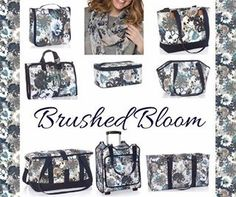 Thirty-One print Brushed Bloom is a great addition to this Fall's collection. Thirty One Games, Thirty One Fall, Thirty One Party, 31 Gifts, Great Gifts, Thirty One Organization, 31 Party, Thirty One Business, Thirty One Consultant