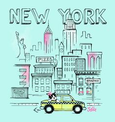 <3 NYC? Then you'll love this tee!