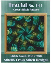 Fractal No 141 Cross Stitch