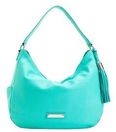Calvin Klein Sonoma Leather Hobo Handbag | Everything Turquoise