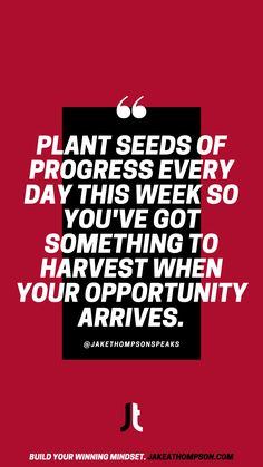 You won't have a harvest of success unless you're planting seeds of work well before the rain comes. Compete every day. Leadership Games, Silly Questions, Good Employee, Slow Burn, To Strive, Keynote Speakers, Planting Seeds, Growth Mindset, Cool Things To Make
