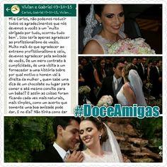 Depoimento Vívian e Gabriel - Doce Amigas #DoceAmigas
