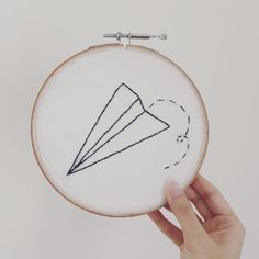 Flickitout. . . . . . .  #embroidery #contemporaryembroidery #diy #embroideryart #embroideryhoops #embroideryhoopart