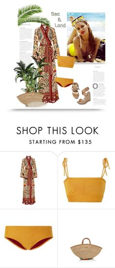 """""""..."""" by bliznec ❤ liked on Polyvore featuring Rhode Resort, Made By Dawn, Aranáz and Stuart Weitzman"""