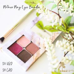 ✨Mother May Eye Bundle: This collection of unforgettable matte eyeshadows features our favorite mom-inspired shades! Mama, Lullaby, Trust, and Mi Hija Eyeshadows, a Square Marble Compact, and an I Shadow Everything Brush come together to pay a pretty tribute to the ones that make our world go round. $55 US/$77 CAN #maskcara #mothersday Makeup Sale, Day Makeup, Makeup For Moms, Pink Grapefruit, Setting Powder, Eyeshadows, Summer Of Love, Lip Colors, Compact