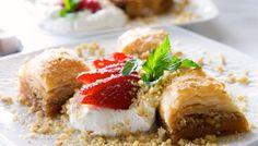 Traditional Baklava Recipe (Greek Walnut, Pistachio and Syrup cake)