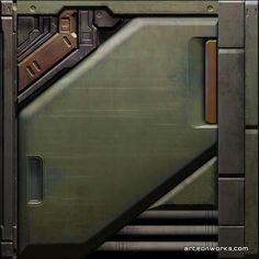 Sci-Fi wall texture