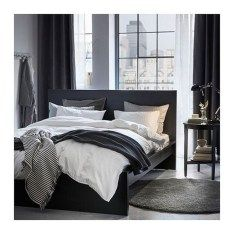 IKEA offers everything from living room furniture to mattresses and bedroom furniture so that you can design your life at home. Check out our furniture and home furnishings! Bedroom Inspo Grey, Gray Bedroom, Trendy Bedroom, Bedroom Decor, Bedroom Ideas, Ikea Bedroom, Charcoal Bedroom, Bedroom Suites, Master Bedroom